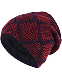 Amazon.es  gorros lana hombre - Gorros de punto   Sombreros y gorras ... 9d9d6521f99