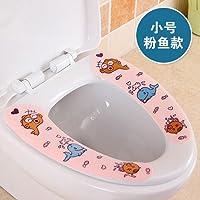 Incollare il sedile di gabinetto pad cartoon cuscino Coperchio wc impermeabile WC WC WC portatili stickers,tromba pesce