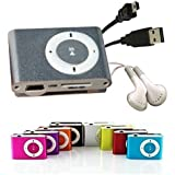 Angelo Caro Mini Fashoin Clip Metal USB MP3 Music Media Player Support 1