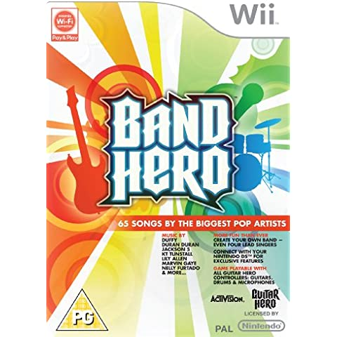 Band Hero - Game Only (Wii) [Importación inglesa]