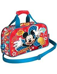 Karactermania Mickey Mouse Jump Bolsa de Deporte Infantil, 38 cm, Rojo