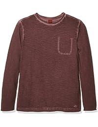 s.Oliver In Überfärbter Qualität, T-Shirt Manches Longues Garçon