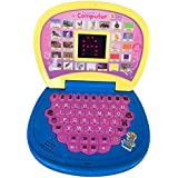 Techhark Learning Laptop Toys 20 Activities, Spy Yellow And Pink Laptop For Kids (yellow)