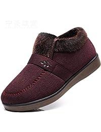 872f1f420b1b8 HBDLH Scarpe da Donna Vecchia Pechino (Scarpe Inverno Anziani di Cotone  Scarpe Caldo Madre