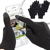 Jago Guanti cellulari touch screen smartphone tablet in maglia unisex nel set da 1