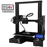 Comgrow Creality Ender 3 Imprimante 3D Aluminum DIY with Resume Print 220 * 220 * 250mm