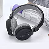 XRIS SH12 Over The Head Wireless Bluetooth Headset With FM And SD Card Slot With Music And Calling Controls For Samsung, Apple, Oppo, VIVO, LG, HTC, HONOR, NOKIA, Motorola And All Phones With Bluetooth
