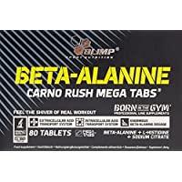 Olimp Beta-Alanine Carno Rush 80 Tabletten, 1er Pack (1 x 138 g) preisvergleich bei fajdalomcsillapitas.eu
