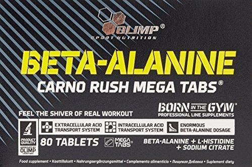#Olimp Beta-Alanine Carno Rush 80 Tabletten, 1er Pack (1 x 138 g)#