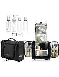 Beauty Case da Viaggio Borsa da Toilette, Bottiglie di Viaggio per Cosmetico - uomini e donne   Organizzare impermeabile per accessori da bagno trucco, Kit Rasura liquidi   approvate dalla TSA