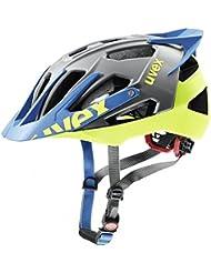 uvex quatro pro Mountainbike Helm - anthracite lime