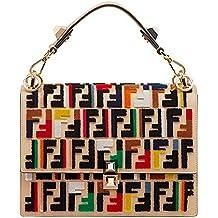 Fendi Mujer 8BT283A1FXF11KG Multicolor Cuero Bolso De Hombro