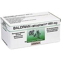 Baldrian Ratiopharm 450 mg überzogene Tabletten 60 stk preisvergleich bei billige-tabletten.eu