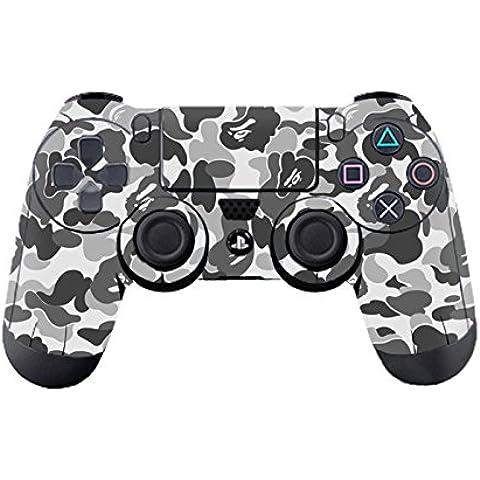 DOTBUY PS4 Controlador Diseñador Piel para Sony PlayStation 4 mando inalámbrico DualShock x 1 (Graffiti Grey)
