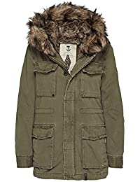Khujo Damen Jacke 100% Baumwolle