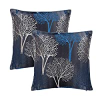 Just Linen Value Pack of 5, Jacquard Design MultiColor 16 * 16 Cushion Covers