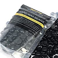 BlueZoo Depilatory Hard Wax Beans - 100 gms Black