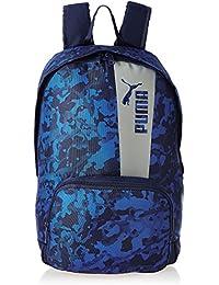 3a368c28ee8d Puma 21 Ltrs Blue Depths-Lapis Blue-High Rise-Graphic Laptop Backpack (