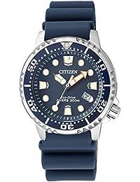 Citizen Damen-Armbanduhr XS Promaster Marine Analog Quarz Plastik EP6051-14L