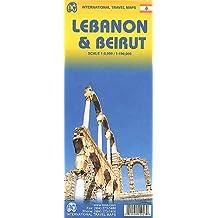 Lebanon & Beirut Travel Map