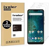 iVoler [3 Pack] Pellicola Vetro Temperato Xiaomi Mi A2 Lite/Xiaomi Redmi 6 PRO [Garanzia a Vita], Pellicola Protettiva, Protezione per Schermo
