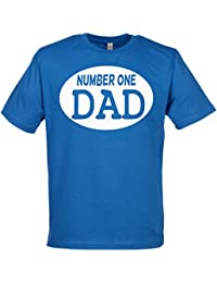 SR - Number One Best Dad Organic Mens T Shirt - New Dad Gift - Gift For Daddy, Dad T Shirt