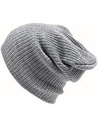 OHQ Sombrero De Lana con Gorro De Punto De Mujer Sombrero para Hombre  Sombrero De Lana De Invierno con Gorro De Invierno De Hip… 8f69d850e0d