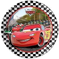 Disney 46888 Pixar Cars Party Decoration Plates Paper, 23 cm/Large