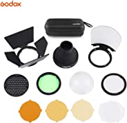 KKmoon Godox AK-R1 Pocket Flash Light Accessories Kit for Godox H200R Round Flash Head AD200 Accessories