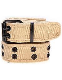 MultiWare Canvas Belt Buckle Webbing Double Hole Belt For Men