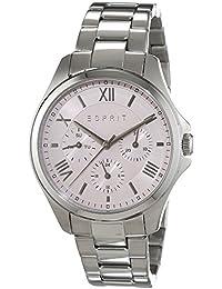 Esprit Damen-Armbanduhr ES-AGATHE SILVER ROSE Analog Quarz Edelstahl ES108442002