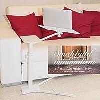 Lounge-book White - Supporto per Notebook e Tablet