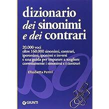 Dizionario dei sinonimi e dei contrari