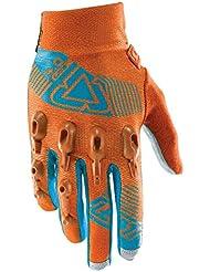 Leatt Dbx 4.0Lite guantes Mixta, color naranja/azul, tamaño large