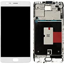 Sirius Care 100% Tested Touch Screen Digitizer + LCD Display Assembly for Oneplus 3 with Frame
