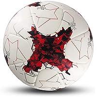 C.N. Ballon d'entraînement de Football pour Enfants Adultes,Blanc Rouge,1