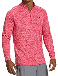 Under Armour UA Tech 1/4 Zip, Sudadera para Hombre, Rojo (Red), M