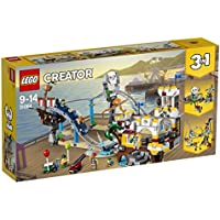 LEGO 31084 Creator Faiground Pirate Roller Coaster Toy, 3-in-1 Model, Building Sets for Kids
