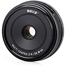 Meike Objetivo 28mm F2.8para Sony E-Mount, multicapa
