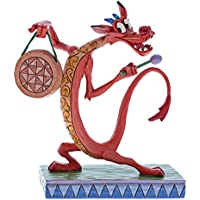 Disney Look Alive-Figurina de Mushu, Resina, Multicolor, 9.00x5.00x11.00 cm