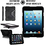 Techgear beschermhoes voor Apple iPad Mini & iPad Mini 2 met Retina-scherm zwart.