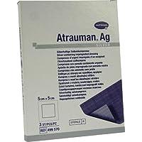ATRAUMAN Ag 5x5 cm steril Kompressen 3 St Kompressen preisvergleich bei billige-tabletten.eu