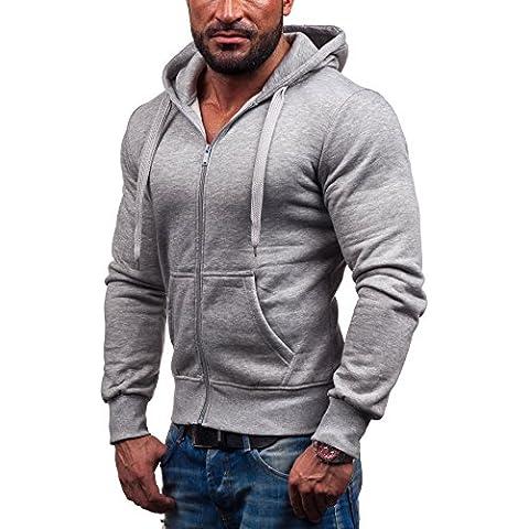 STEGOL Hombre Sudadera con capucha AK50