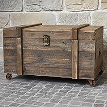 malle ancienne bois. Black Bedroom Furniture Sets. Home Design Ideas