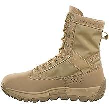 FREE SOLDIER Chaussures de Patrouille Militaires Hommes Tactiques Bottes de  randonnée Bottes de Combat en Cuir b3200a920c26