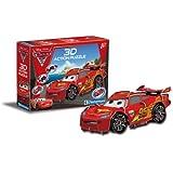 Clementoni 20101.3 Disney Cars 2 - Puzzle en 3D con diseño de Rayo McQueen