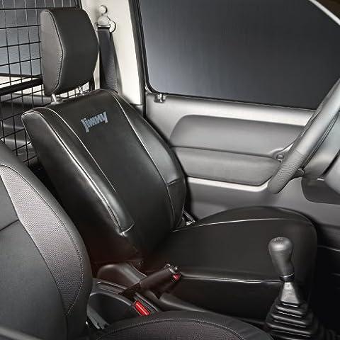 Coprisedile originale per Suzuki Jimny, per sedile conducente o passeggero, in ecopelle, senza poggiatesta