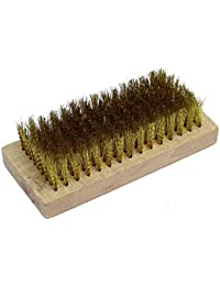 Tradico® Wooden Base Brass Wire Brush Cleaning Tool For Anilox Roller Cleaning