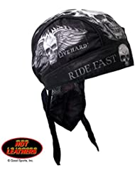 "Hot Leathers Authentic Bikers Premium Headwraps, BAD SCRATCH, ""Ride Fast, Live Hard"" - High Quality Micro-Fiber HEADWRAP"
