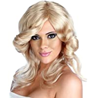 Parrucca di colpo di frusta di Farah - parrucca adulta